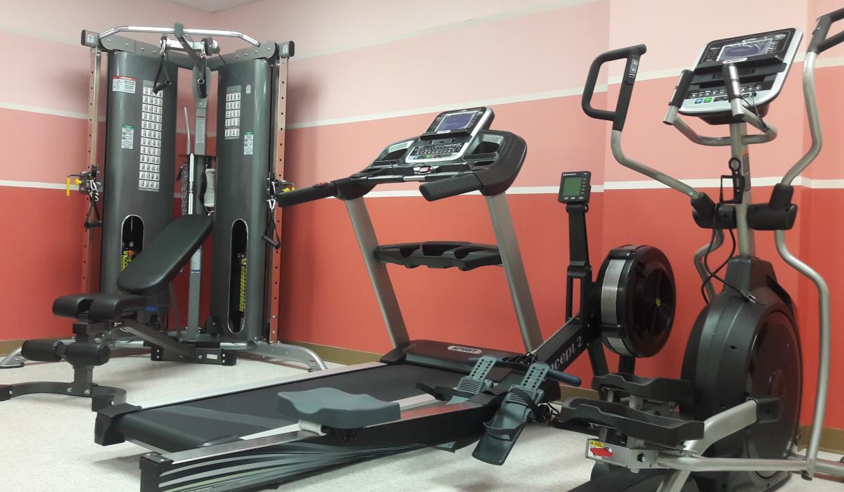 Senior fitness room the calgary chinese elderly citizens